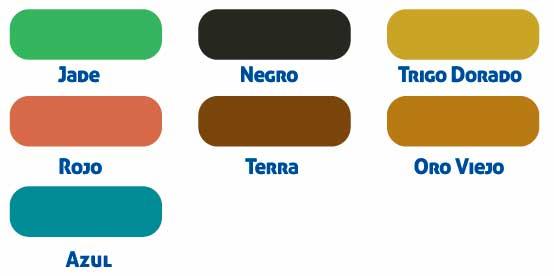 ácido colorante oxidante colores