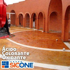 ácido colorante oxidante