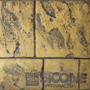 Pisos de concreto Color Endurecedor - Amarillo Trafico Desmoldante - Negro Molde - Granito Antiguo