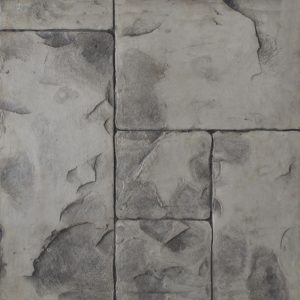 Pisos de concreto Color Endurecedor-Gris Plata Desmoldante-Gris Molde-Ashlar romano