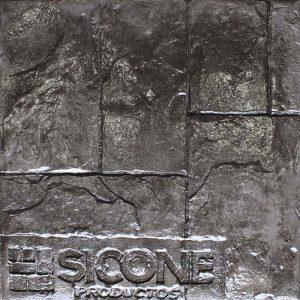 Pisos de concreto Color Endurecedor - Negro Desmoldante - Negro Molde - Ashlar Romano