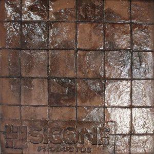 Pisos de concreto Color Endurecedor - Tabaco Desmoldante - Chocolate Molde - Baldosa 10 x 10