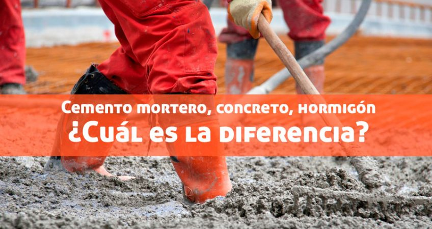 cemento mortero, concreto, hormigón