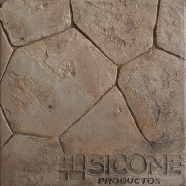 Pisos de concreto Color Endurecedor - Café Claro Desmoldante -Café Claro Molde - piedra Pichón
