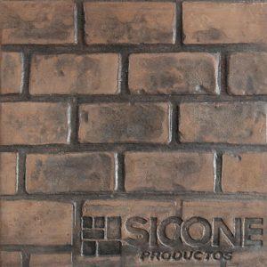 Pisos de concreto Color Endurecedor - Café Claro Desmoldante - Negro Molde - Ladrillo de Soga