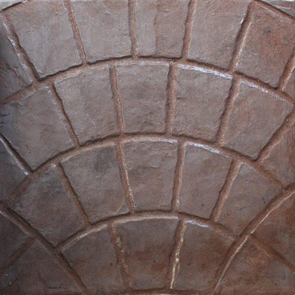 Pisos-de-concreto-Color-Endurecedor-Café-Claro-Desmoldante-Neutro-Molde-Abanico