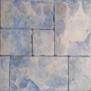 Pisos de concreto Color Endurecedor - Celeste Desmoldante - Gris Molde - Ashlar Romano