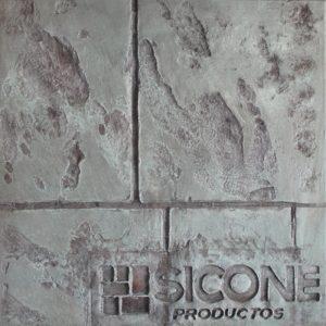 Pisos-de-concreto-Color-Endurecedor-Jade-Desmoldante-Gris-y-Rojo-Molde-Granito-Antiguo