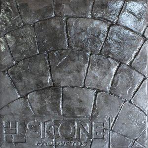 Pisos de concreto Color Endurecedor - Onix Desmoldante - Negro Molde - Abanico