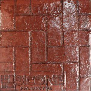 Pisos de concreto Color Endurecedor-Rojo Desmoldante-Neutro Molde-Petatillo Grande