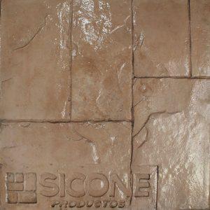 Pisos de concreto Color Endurecedor-Rosa Cantera Desmoldante-Neutro Molde-Ashlar Romano
