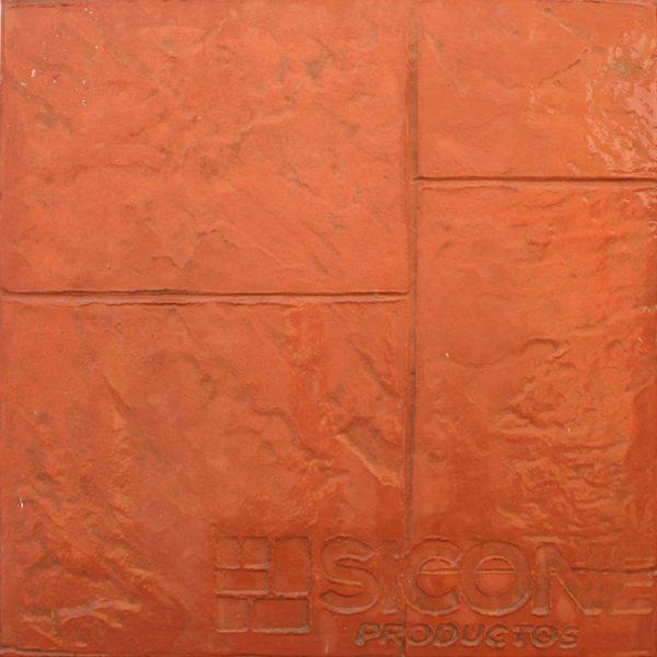 Pisos-de-concreto-Color-Endurecedor-Terracota-Desmoldante-Neutro-Molde-Granito-Antiguo