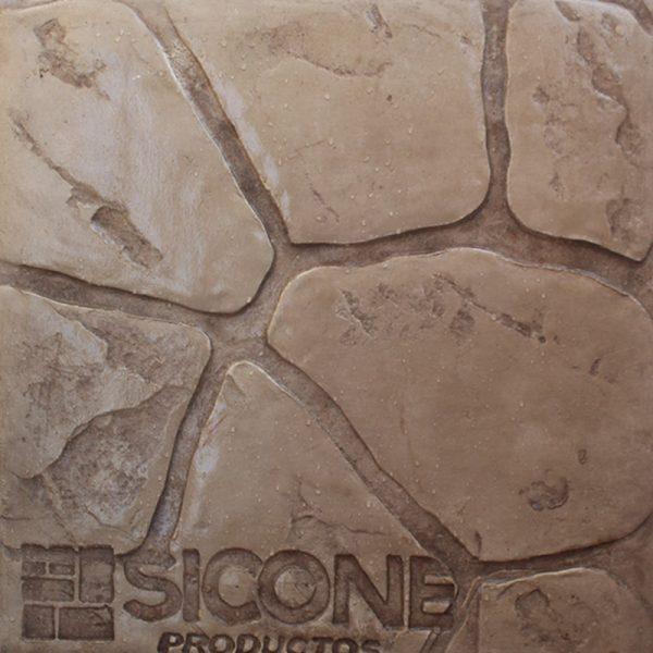 Pisos-de-concreto-Color-Endurecedor-Travertino-Desmoldante-Café-Claro-Molde-Pichon-Viejo