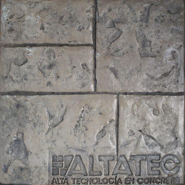 Pisos-de-concreto-Color-Endurecedor-Travertino-Desmoldante-Gris-Molde-Ashlar-Australiano