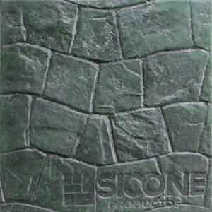 Pisos de concreto Color Endurecedor - Verde Desmoldante - Neutro Molde - Pizarra Romana