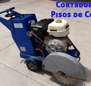 Cortadoras para pisos de concreto