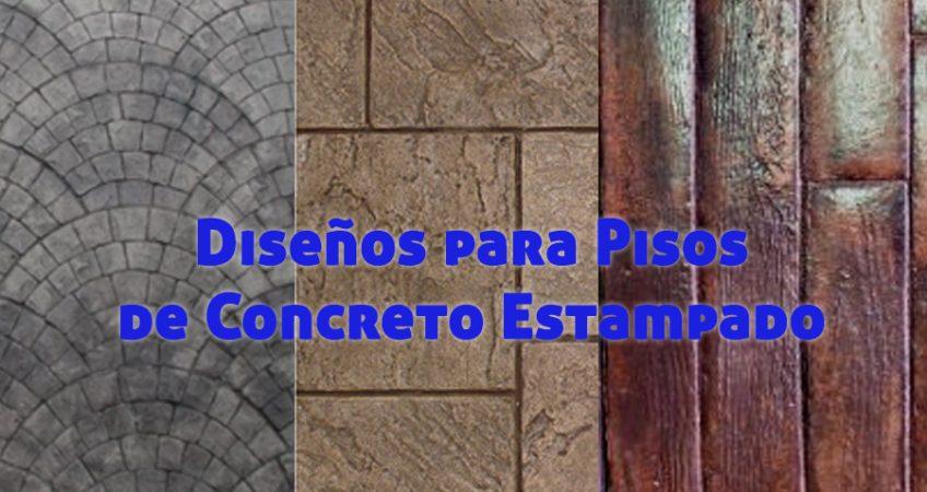Diseños para Pisos de Concreto Estampado