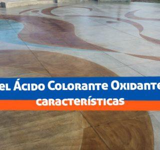 Qué es el Ácido Colorante Oxidante - y sus características